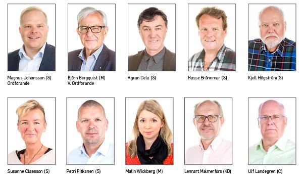 IBAB styrelse 2015 Tio ledamöter